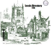 1798 Leeds Directory - DOWNLOAD [Free Delivery]