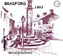 1863 Bradford Mercantile Directory - DOWNLOAD [Free Delivery]
