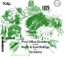 1879 KELLY'S POST OFFICE DIRECTORY, NORTH & EAST YORKSHIRE & YORK & HULL - CD