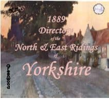 1889 Kelly's Directory, North & East Yorkshire - CD