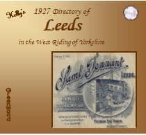 1927 Kelly's Directory of Leeds - DOWNLOAD [Free Delivery]