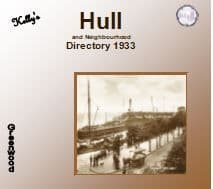 1933 Hull and Neighbourhood Kelly's Directory - DOWNLOAD [Free Delivery]