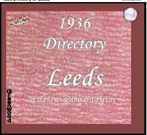 1936 Kelly's Directory Of Leeds - DOWNLOAD [Free Delivery]