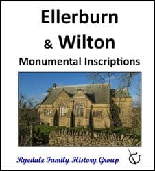 Ellerburn and Wilton - Monumental Inscriptions - DOWNLOAD (FREE DELIVERY)