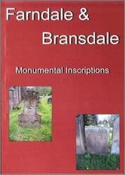 Farndale and Bransdale - Monumental Inscriptions - A5 Book