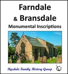 Farndale and Bransdale - Monumental Inscriptions - CD