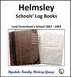 Helmsley - Schools' Log Books - DOWNLOAD (FREE DELIVERY)