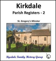 Kirkdale - Parish Registers 2 (Burials) - DOWNLOAD (FREE DELIVERY)