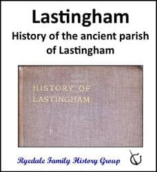 Lastingham - History of the ancient parish of Lastingham - CD