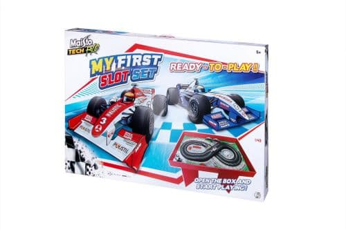 Maisto My First Slot Remote Control Car Set  Preassembled