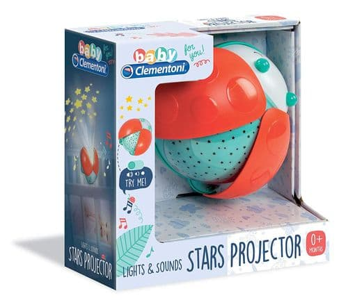 Baby Night Light Ladybird Star Projector Lamp Kids Bedside Christmas Gift