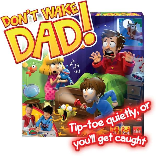 Goliath Shhh Don't Wake Dad Up Kids Game