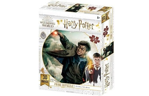 Harry Potter 3D Lenticular 300 Pieces Jigsaw Puzzle HP33006