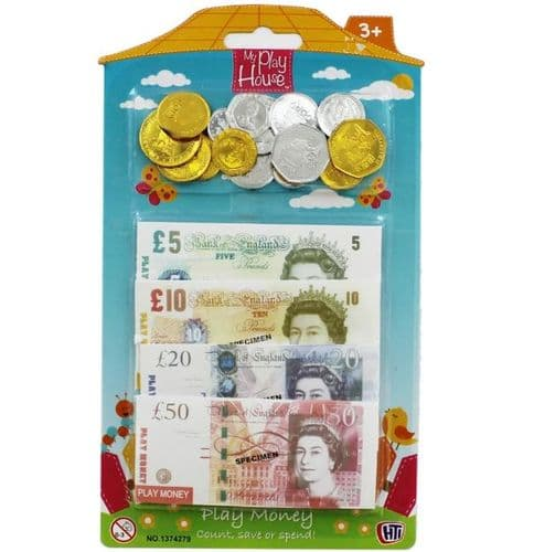 Kids Play and Pretend Money Educational Maths Fun Kit