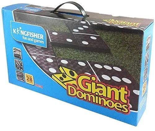 Kingfisher GA008 Giant Dominoes Outdoor Family Game