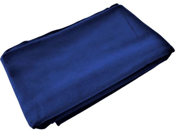Large Navy Microfibre Quick Dry Towel Open Water Swimming
