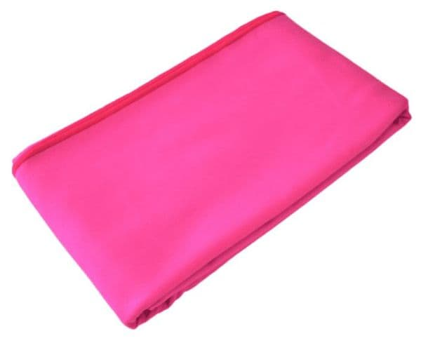 Large Pink Microfibre Quick Dry Towel Open Water Swimming