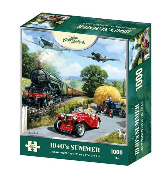 Nostalgia Collection Summer 1940's 1000 Pieces Jigsaw Puzzle 6+