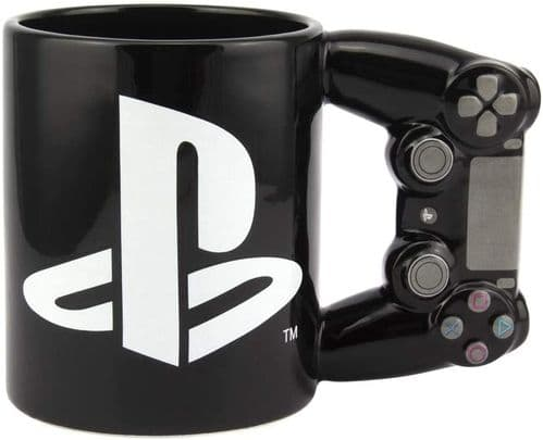 Playstation 4th Gen Controller Mug Ceramic Coffee Mug for Gamers