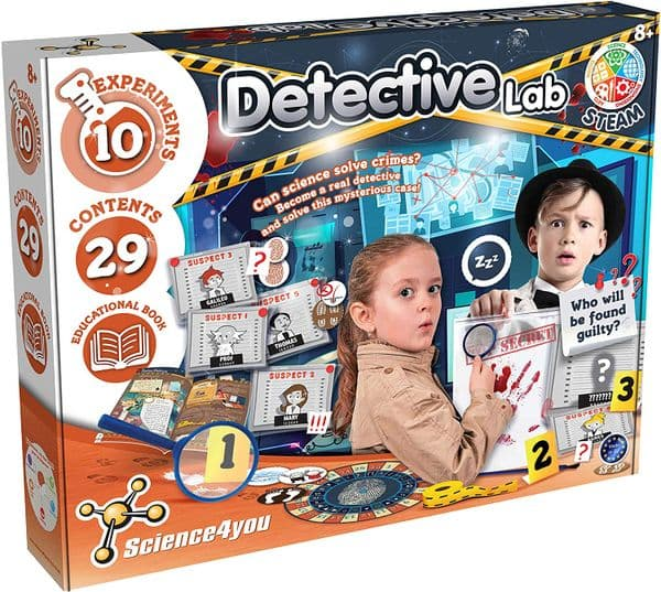 Science4you Detective Laboratory Kit for Kids