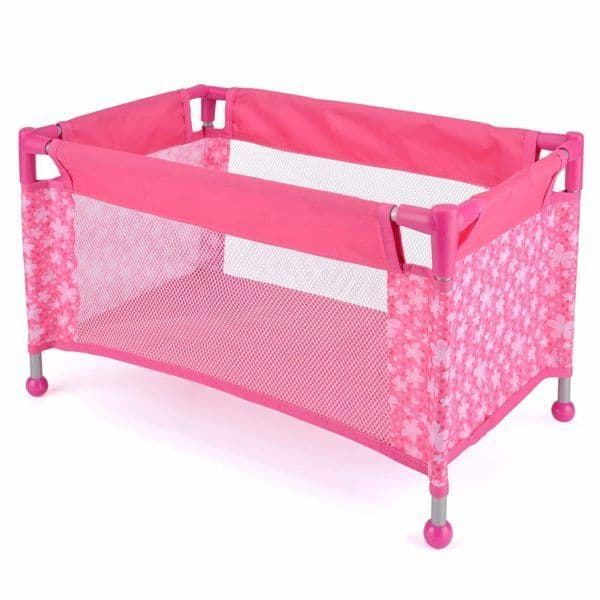 Snuggles Collapsible Doll Travel Cot