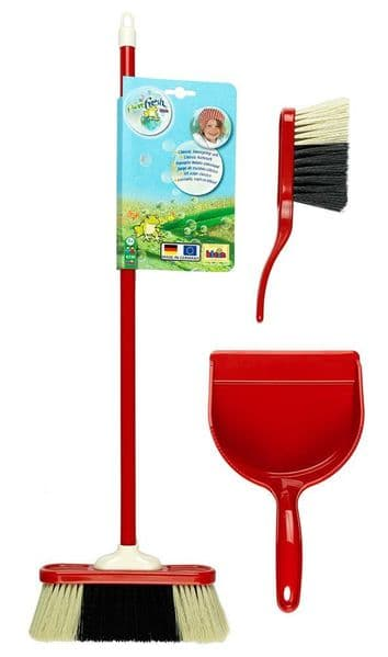 Theo Klein Classic Sweeping Set Children's Dustpan and Brush 6330 Roleplay Toy